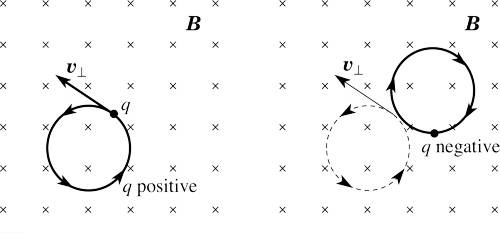 Representation of Direction of Magnetic Field on the Plane of a Paper