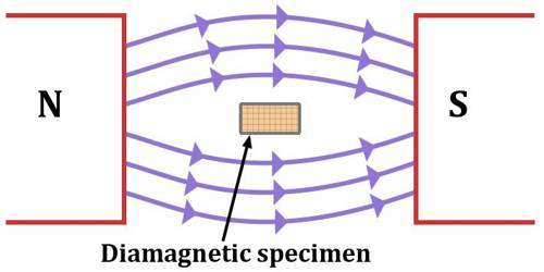 Diamagnetism of Diamagnetic Materials