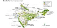 Forest Covers in Indian Subcontinent