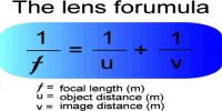 Lens Maker's Formula or Equation of Lens Formation