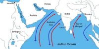 Monsoon Winds of the Arabian Sea