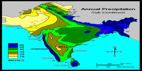 Rain-bearing Systems and Rainfall Distribution of Indian Monsoon