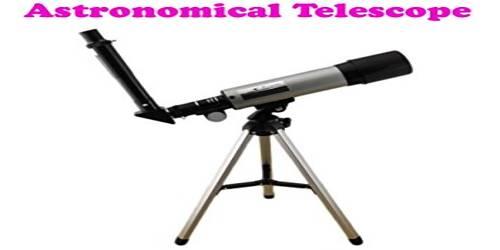 Principle of Astronomical Telescope