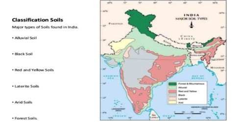 Classification of Soils in India