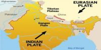 Earthquakes in Indian Tectonic Plate