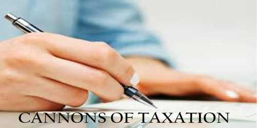 Canons Taxation
