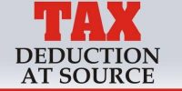 Tax Deduction at Sources