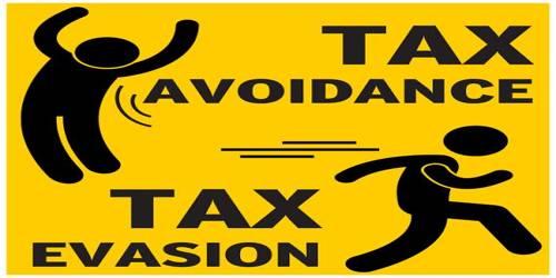 Distinguish between Tax Evasion and Tax Avoidance