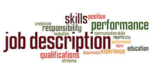 Steps of Job Description
