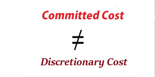Difference between Committed Cost and Discretionary Cost