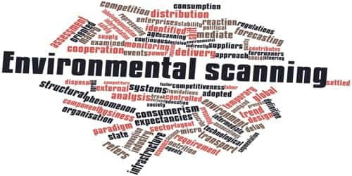 How can Environmental Scanning be accomplished?