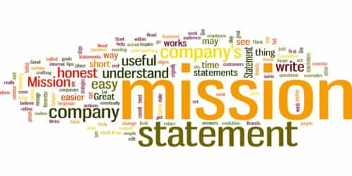 Ideal Contents of organization's Mission Statement