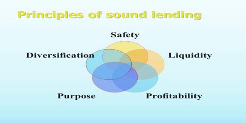 Principles of Sound Lending Policy