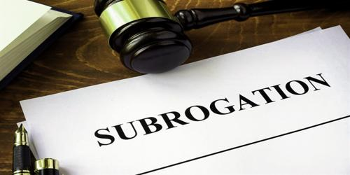 How the right of subrogation arises?