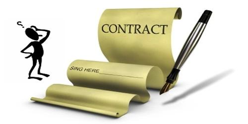 Unenforceable Contract