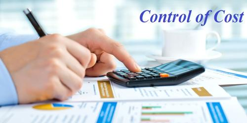 Control of Cost