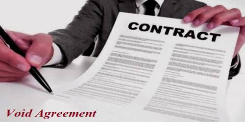 Void Agreement