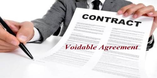 Voidable Agreement