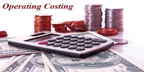 Basic Features of Operating Costing