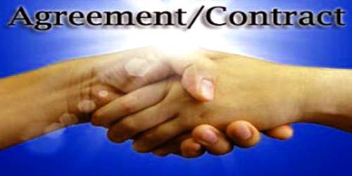 Difference between Agreement and Contract
