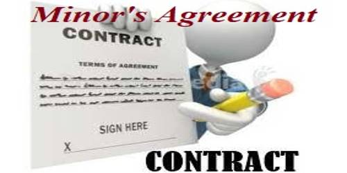 Minor's Agreement