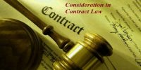 Consideration in Contact Law