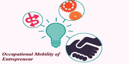 Occupational Mobility of Entrepreneur