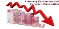 Distinguish between Currency Devaluation and Currency Depreciation