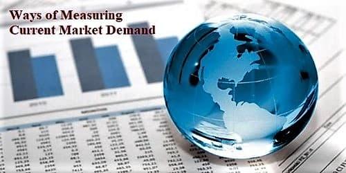 Ways of Measuring Current Market Demand