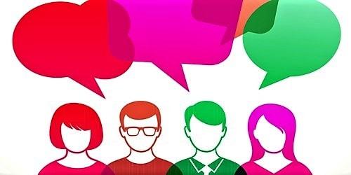Application for organizing an English Language Club