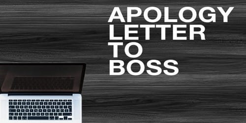 Apology Letter format for Employee Due to Misconduct