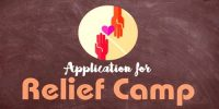 Application for opening Relief Camp in your College Premises
