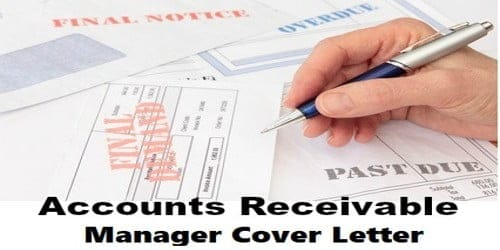 Cover Letter for Accounts Receivable Manager