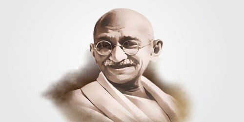 Mahatma Gandhi – a True Leader