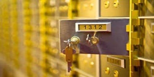 Application for Safe Deposit Bank Locker Facility