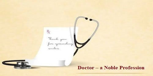 Doctor – a Noble Profession