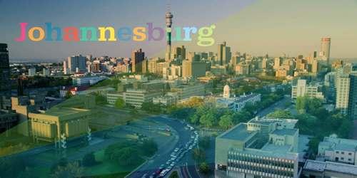 The city of Johannesburg