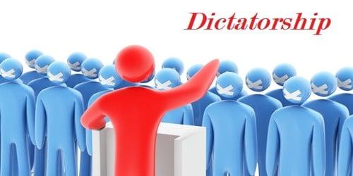 Dictatorship – Merits and Demerits