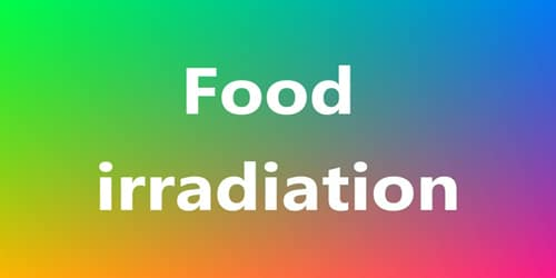 What is food irradiation?