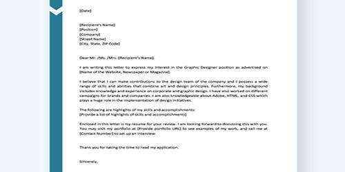 Cover Letter for Assistant Designer