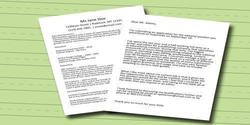 Cover Letter for Assistant Merchandiser