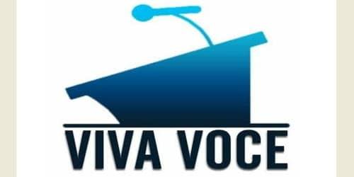 Facing a Viva-voce