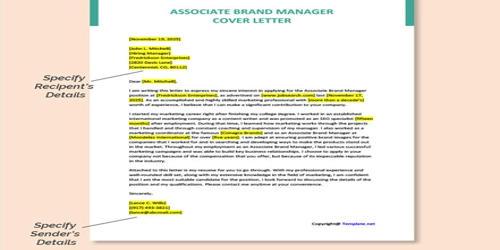 Cover Letter for Associate Brand Manager