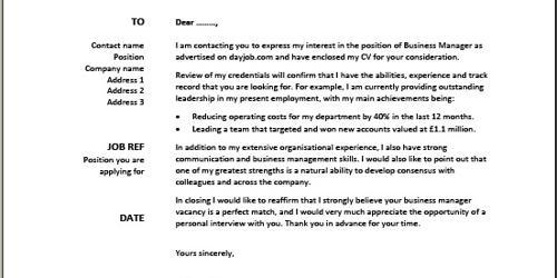 Cover Letter for Associate Financial Planner
