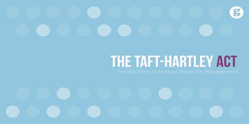 Taft–Hartley Act