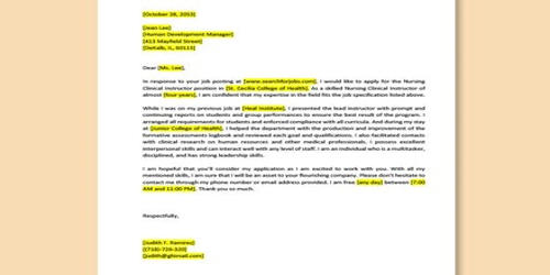 Cover Letter for Authorization Coordinator