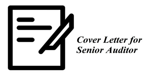 Cover Letter for Senior Auditor