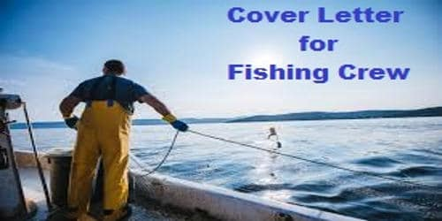 Cover Letter for Fishing Crew