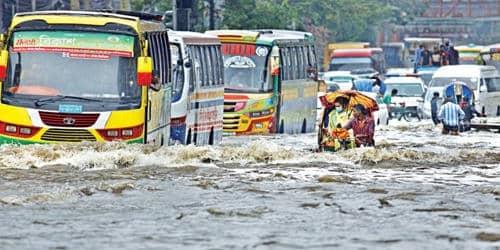 Water logging problem in Dhaka City 1