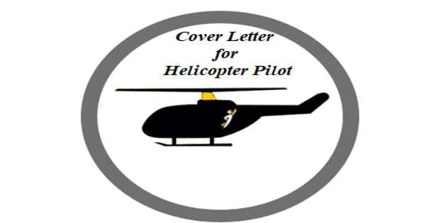 Cover Letter for Helicopter Pilot